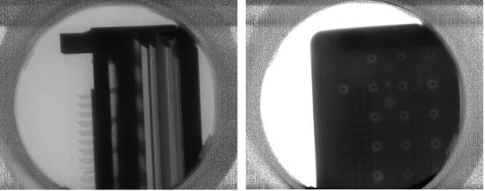 Neutron image using cold neutrons