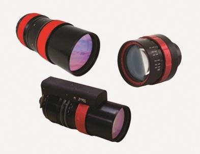 Three StingRay Optics lenses