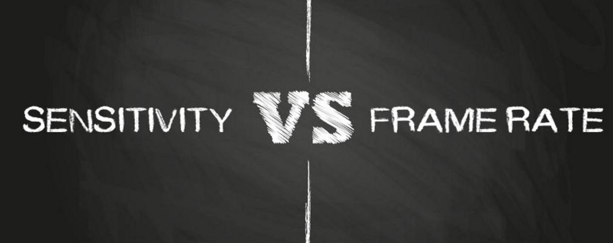 Sensitivity Vs. Frame Rate in Low Light Imaging