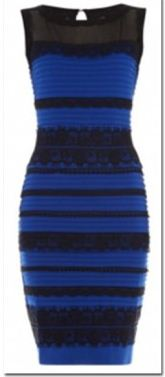 """The photo of """"The Dress"""" showing how the dress looks in real life"""