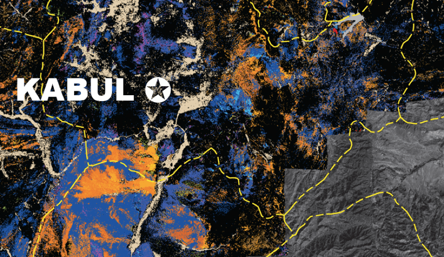 A 2014 high-tech mineral-mapping effort in Afghanistan