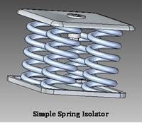 simple spring isolator