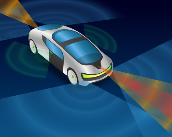 LIDAR and other optical sensor applications for automotive are set to grow significantl