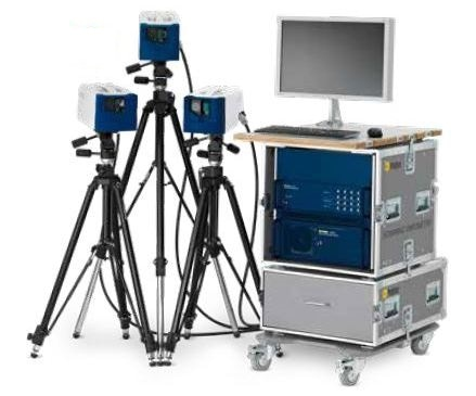 Polytec PSV-500-3D Scanning Vibrometer.