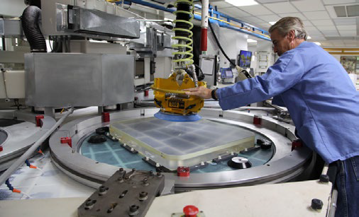 Refurbishing highly durable coated optics requires in-house grinding and polishing capabilities.