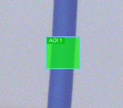 Observe size and position of measurement window.