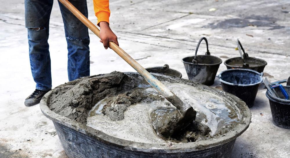 cement mixing