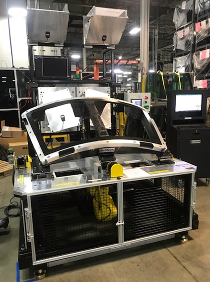 The HUDSON test system from CP Industries addresses complete customer requirements for HUD glass inspection and can be incorporated as part of a fully automated production line or used in offline measurement.