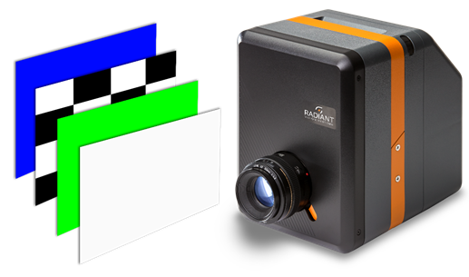 The ProMetric I Imaging Colorimeter synchronizes test operations with images on the display for comprehensive evaluation in seconds.