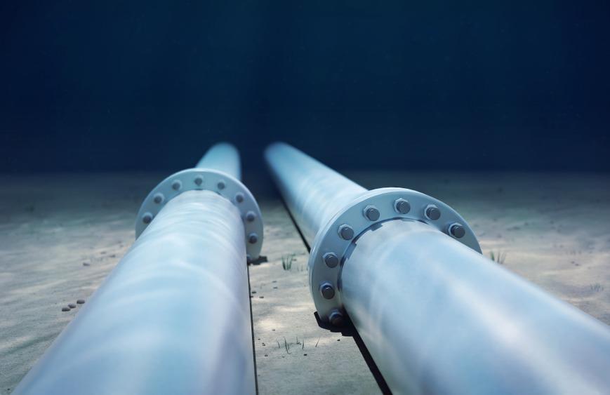 underwater pipeline