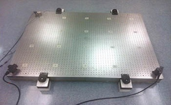 The Effects of Removing Vibration with Optical Tables