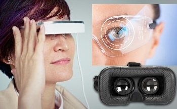 Display Measurement in Virtual & Augmented Reality Headsets