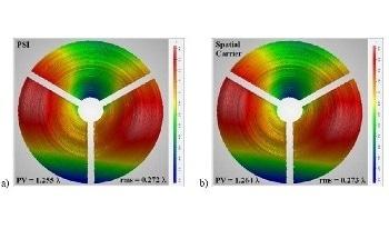 Single-Camera Frame Instantaneous Interferometry - An Alternative Test Method