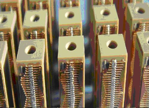 PICMA® Piezo ceramic stack actuators with thru-hole.