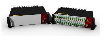 Multichannel Integration of up to 16 Koheras BASIK Lasers - Koheras ACOUSTIK