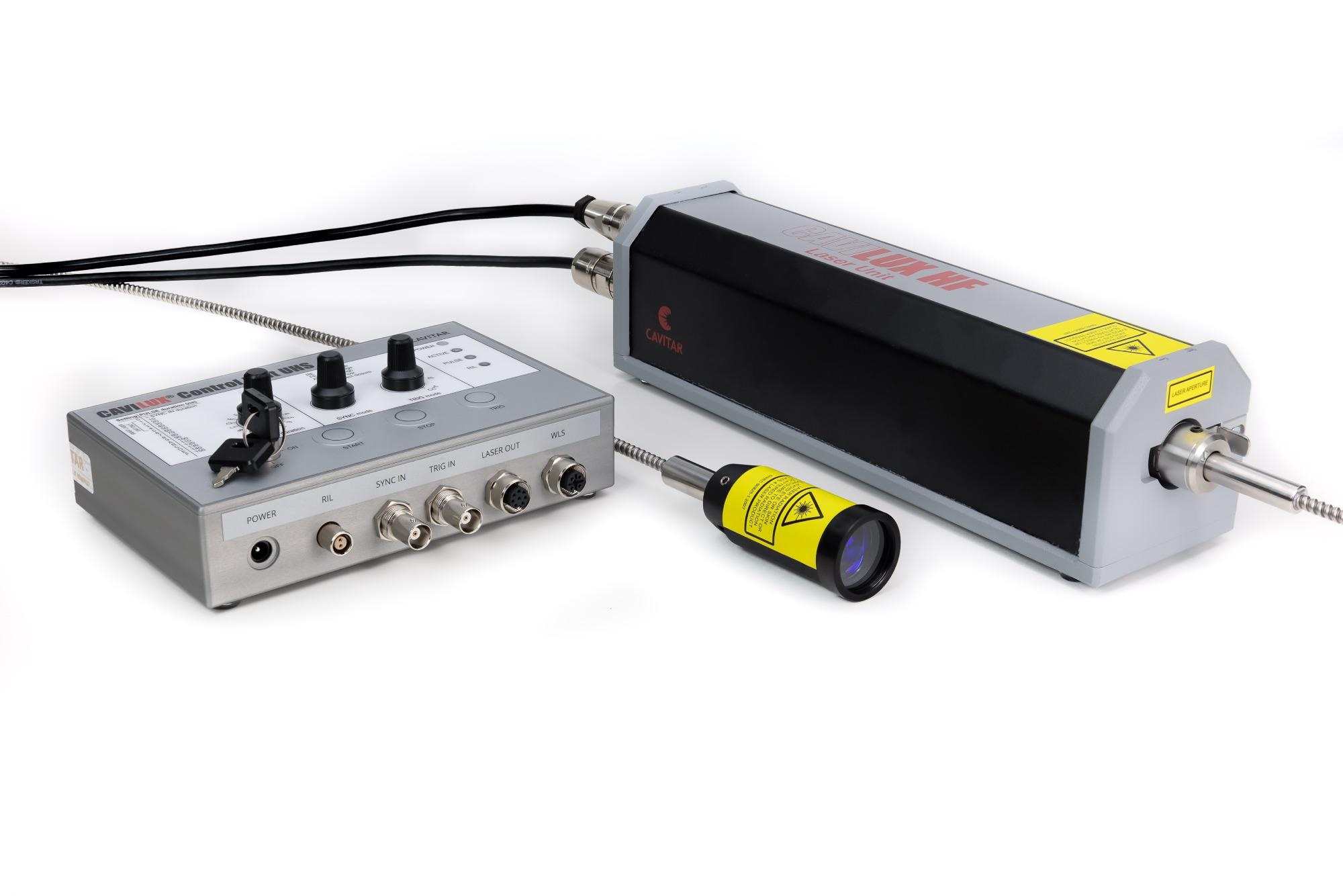 Powerful Pulsed Diode Laser Light Source with Short Pulses