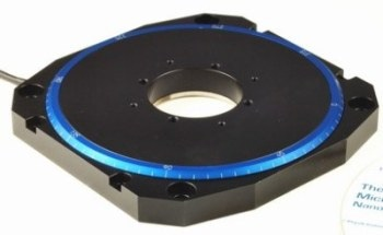 Ultra Low Profile Ultrasonic Motor M-660 Rotation Stage from PI