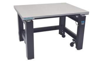 The TMC CleanBench™ Vibration Isolation Lab Table for use in Confocal Microscopy