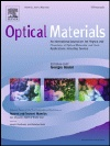 Optical Materials: Elsevier Journal
