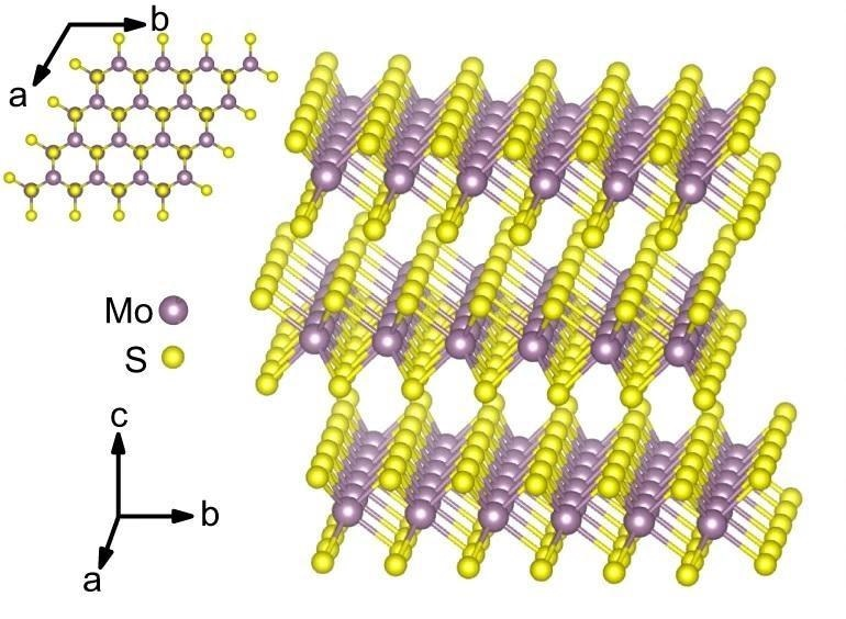 Giant Optical Anisotropy Measured in Layered Molybdenum Disulfide Crystals