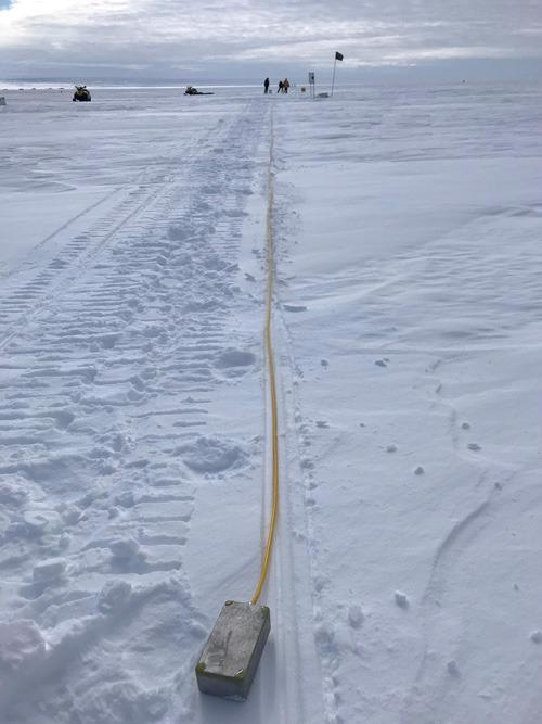 Study Details Use of Fiber Optic Cable to Detect Minor Earthquakes in Antarctica