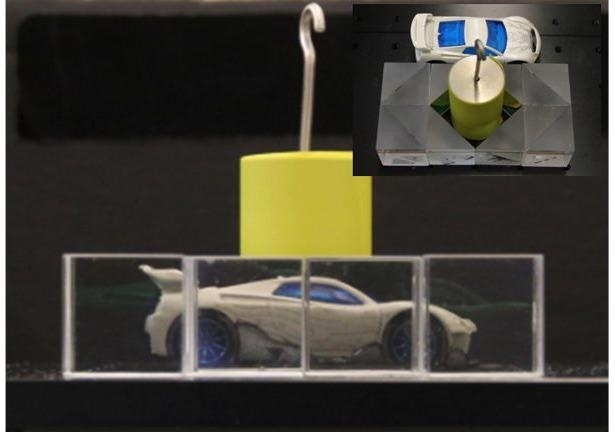 Invisibility Cloaks can be Realized Using Standard Optical Components