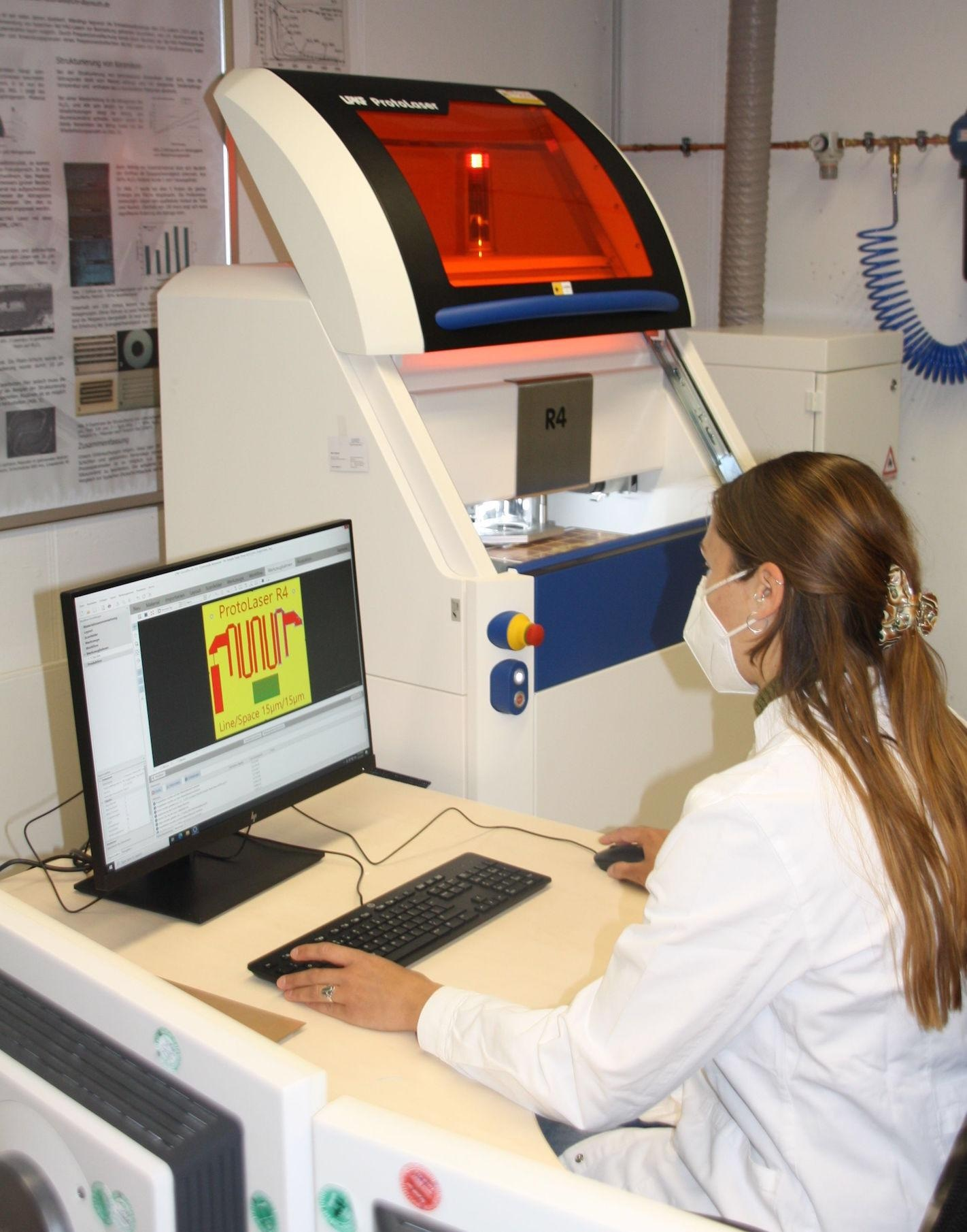 New Device Uses Ultra-Short Pulse Laser Source for Material Processing.