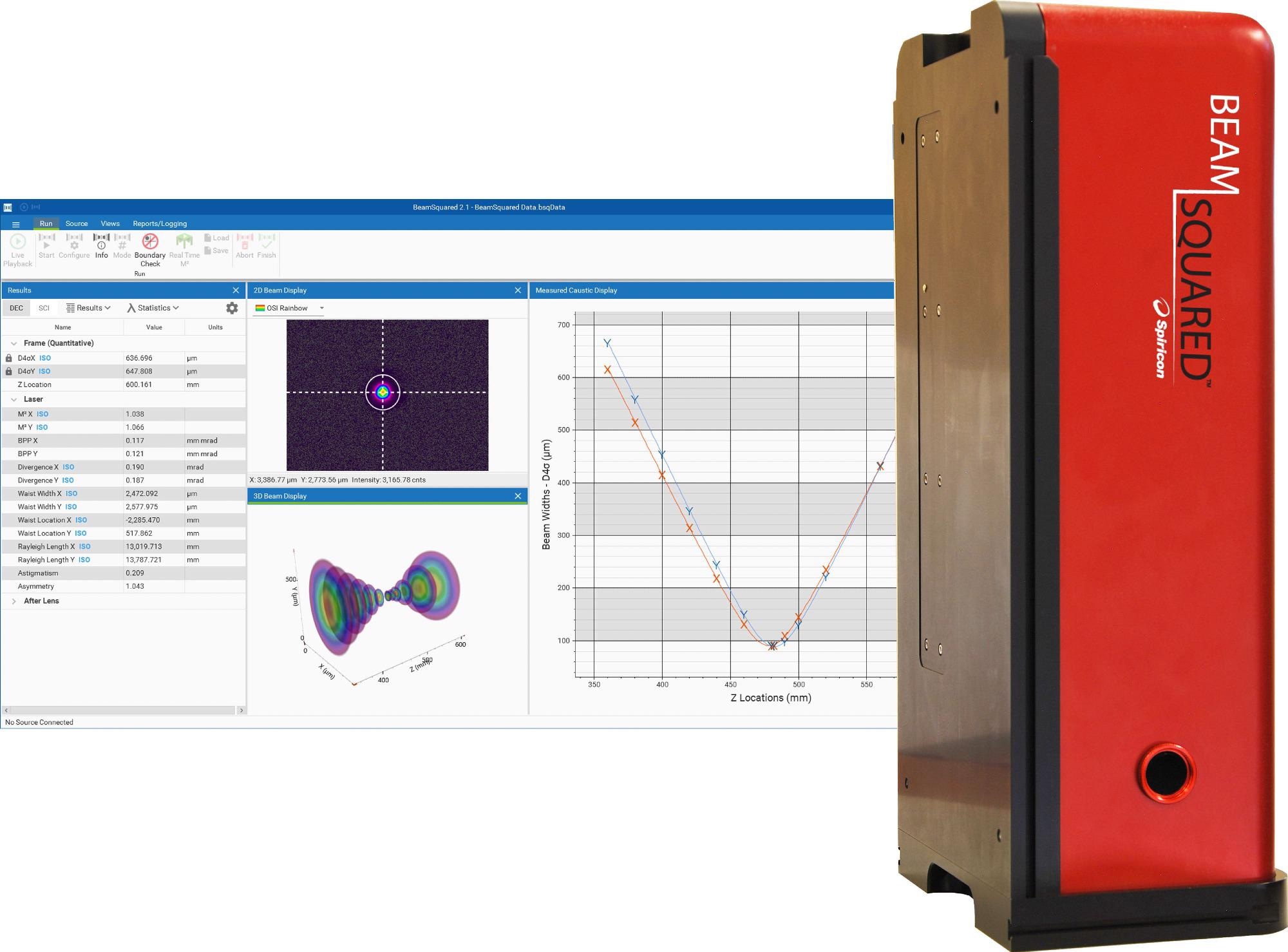 New Ophir® Laser Beam Propagation System Supports Long Rayleigh Length Lasers in Material Processing and Micromachining Applications