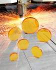 Laser Research Optics Offers ZnSe Focusing Lenses for Steel Cutting Lasers