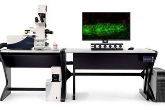 Next generation confocal platform for super-resolution live cell imaging in multicolor