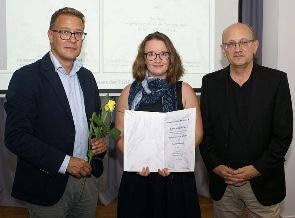 Caroline Berlage, a Student at PicoQuant, Wins Physik-Studienpreis by the Physikalische Gesellschaft zu Berlin