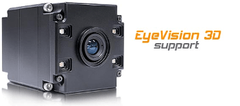 EyeVision 3D Supports New 3D Sensors