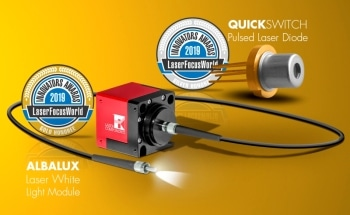 ALBALUX and QuickSwitch Success Stories Continue - Two Products Honoured by Laser Focus World