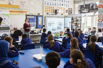Luxinar Goes Back to School to Support British Science Week and STEM