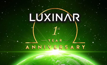 Luxinar 1st Year Anniversary