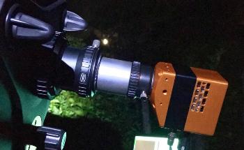 Imaging Venus with a Scientific SWIR Camera