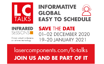 Online Exchange of Knowledge with Virtual LC Talks - LASER COMPONENTS has a New Series of Events