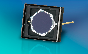 Opto Diode's UV-Enhanced Detector with  5.5 mm Diameter Active Area