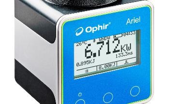 MKS Instruments Announces Ophir® Ariel, Ultra-Compact Laser Power Meter for Measuring High Power Industrial Lasers in Confined Spaces