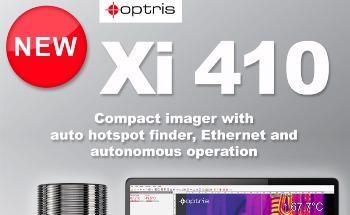 New Compact Infrared Camera - Optris Xi 410