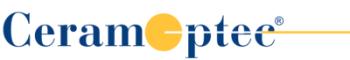 CeramOptec GmbH logo.