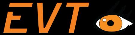 EVT Eye Vision Technology logo.