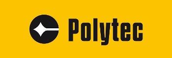 Polytec logo.