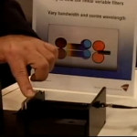 Demonstration of DELTA's Linear Variable Filters at Photonics West 2012