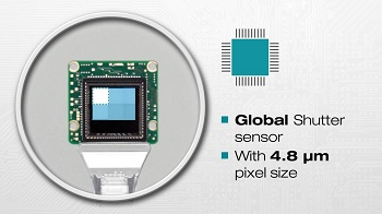 The USB 3 uEye CP with ON Semiconductor PYTHON 5000