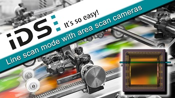 Line Scan with Area Scan Cameras