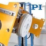 Heavy-Duty Lifting and Rotating Platform from PI